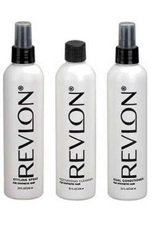 Wig Accessories : 3 Pack Combo Revlon - Shampoo, Conditioner, Wig Spray