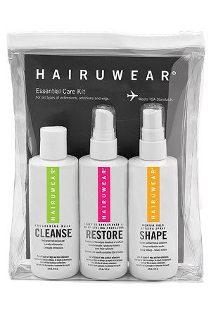 Wig Accessories : Wig Care Kit - HairUWear - Essential Care Travel Kit