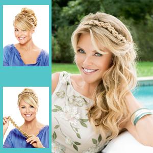 Christie Brinkley Additions: Thick Braid Headband (CBTBHB)