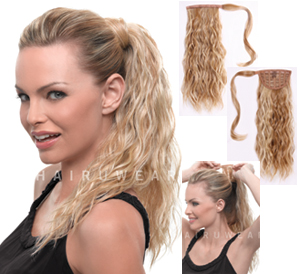 Hairdo Extensions 18 Inch Beach Curl Pony H18bcp