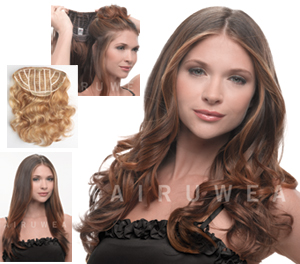 HairDo Extensions : 23 Inch Wavy Extension (#HX23WE)