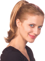 Jon Renau EasiHair Wig Savvy is a wonderful straight, long ponytail with a 2-in-1 clip-on/fusion attachment.