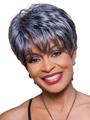 Kathy by Foxy Silver Wigs Wigs