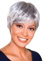 Trudy by Foxy Silver Wigs Wigs