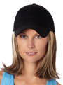 Classic Hat Black by Henry Margu Wigs