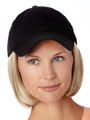 Shorty Hat Black by Henry Margu Wigs