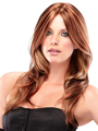 Jon Renau Wig Aurora is sleek, chic, softly layered, and allows you to change the style and part the wig any way you choose.