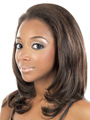 Berry Lace Front Ear to Ear by Motown Tress Wigs