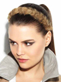 Headband Faux Fur by PutOnPieces