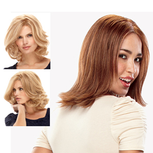 Jon Renau Wigs : Carrie HH Exclusive Colors (#708A)