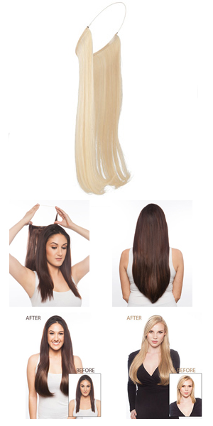 LuxHair HOW Wigs : Circle Extension 16-18