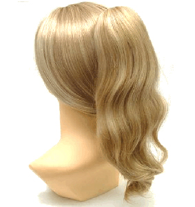 Aspen Nalee Hair Pieces : 17 Inch Curly Clip On (NP-021)