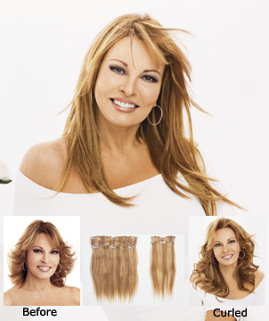 Raquel Welch Wigs : 2pc Extensions