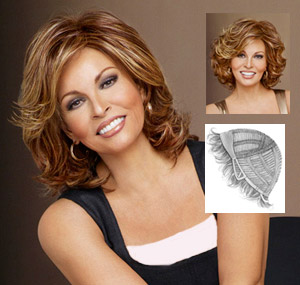 Raquel Welch Wigs : Embrace
