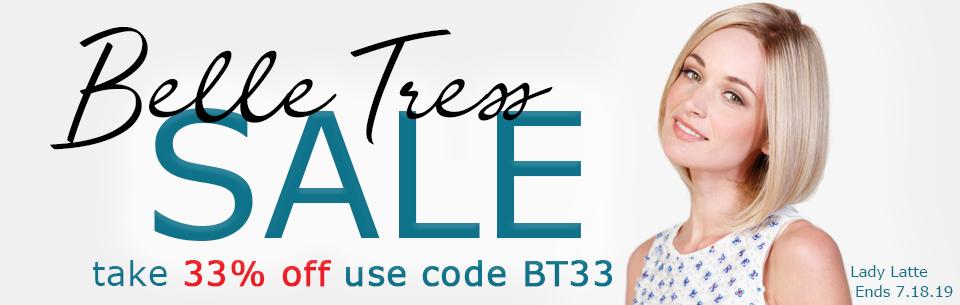 Joshua24.com Belle Tress 33% OFF Sale