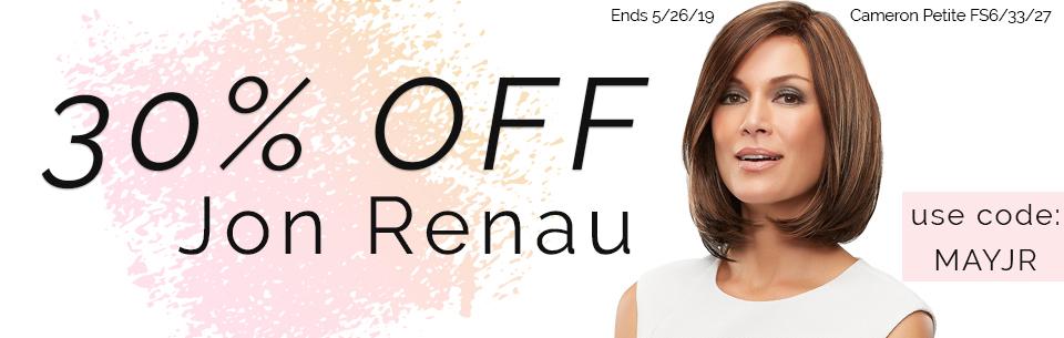 Joshua24.com Jon Renau 30% OFF Sale
